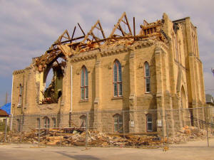 Goderich tornado 1261 + 1335 days from Balance Bible Code.