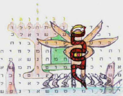 Bible Code predictions about contest with the serpent Baal.